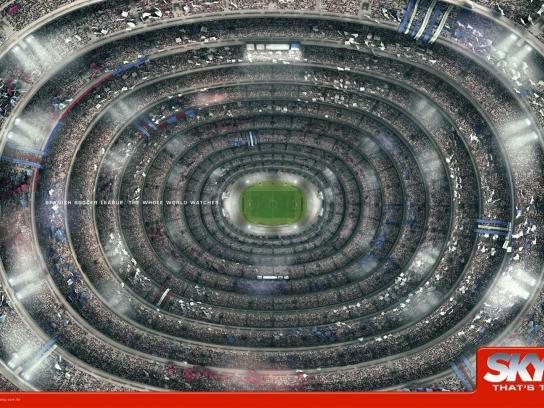 SKY Print Ad -  Stadium