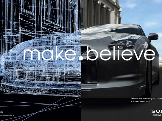 Sony Outdoor Ad -  Make.Believe, GT5
