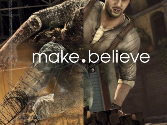 Sony Outdoor Ad -  Make.Believe, UC