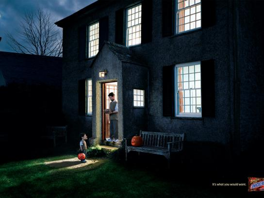 Snickers Print Ad -  Mr Smith