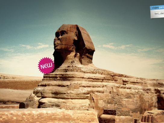 Viajes Print Ad -  Sphinx