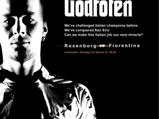 Rosenborg FC Print Ad -  Godfoten