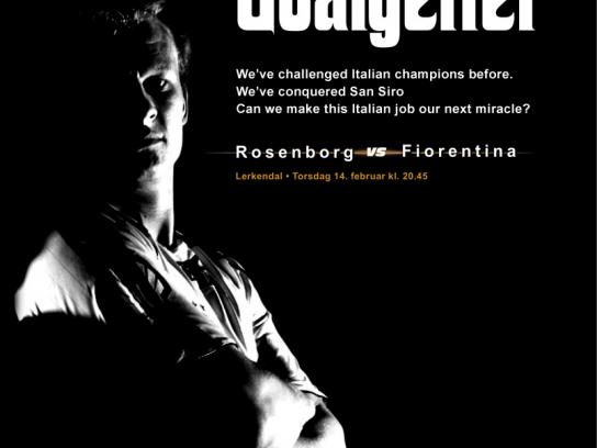 Rosenborg FC Print Ad -  The Goalgetter