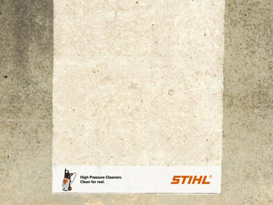 Stihl Ambient Ad -  Wall