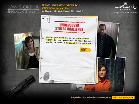 Hallmark Channel Digital Ad -  Undercover Stress Challenge