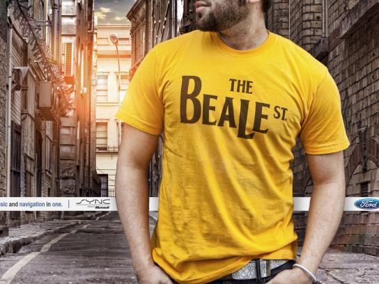 Ford Print Ad -  Beatles