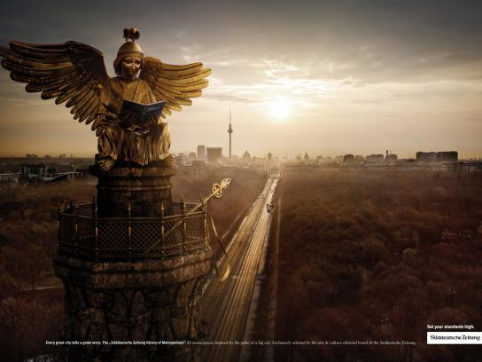 Süddeutsche Zeitung Print Ad -  Berlin