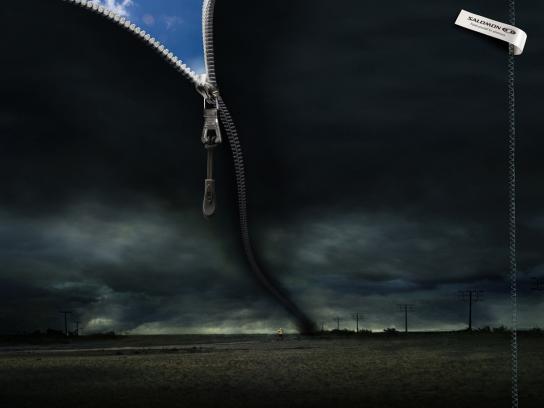 Salomon Print Ad -  Tornado