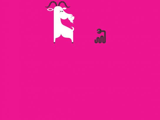 Sandisk Print Ad -  Goat