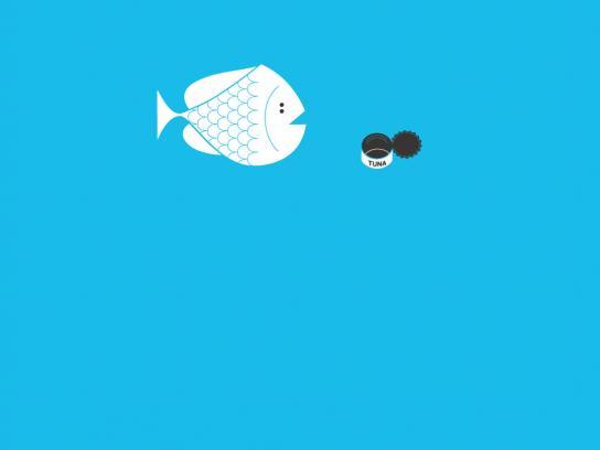Sandisk Print Ad -  Fish