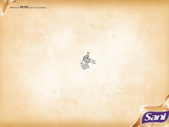 Sani Print Ad -  Sudoku