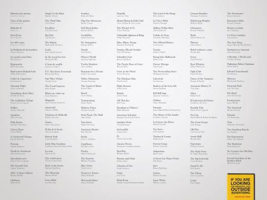 TBWA Print Ad -  Movies