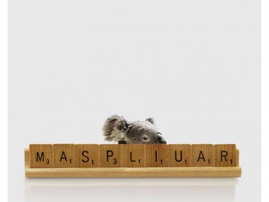 Scrabble Print Ad -  Marsupial