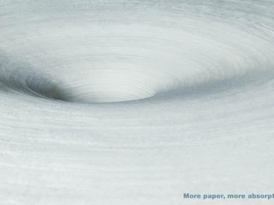 Scottex Print Ad -  Whirl
