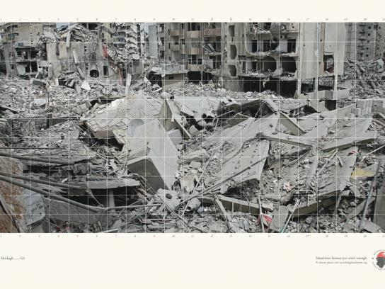 National Disaster Search Dog Foundation Print Ad -  Rubble, 2