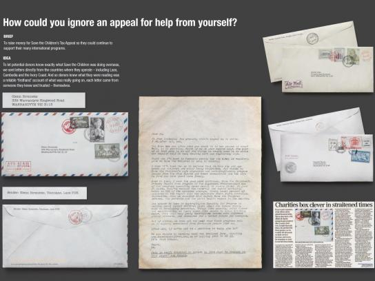 Save the Children Direct Ad -  Letter