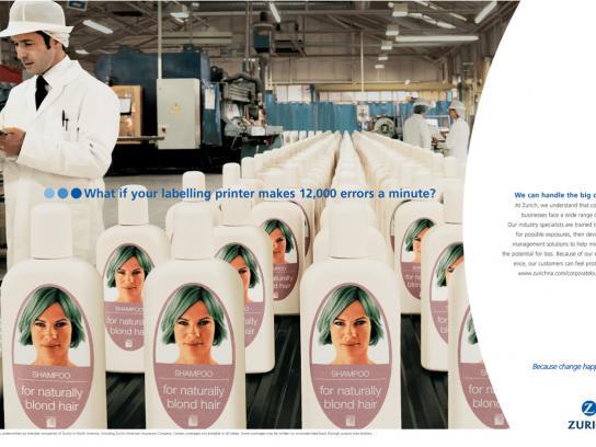 Zurich Print Ad -  Shampoo