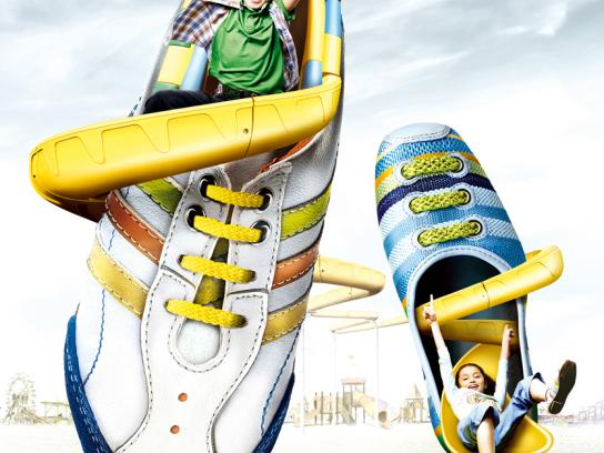 Metro Shoes Print Ad -  Shoe Slide (Kids Shoes)