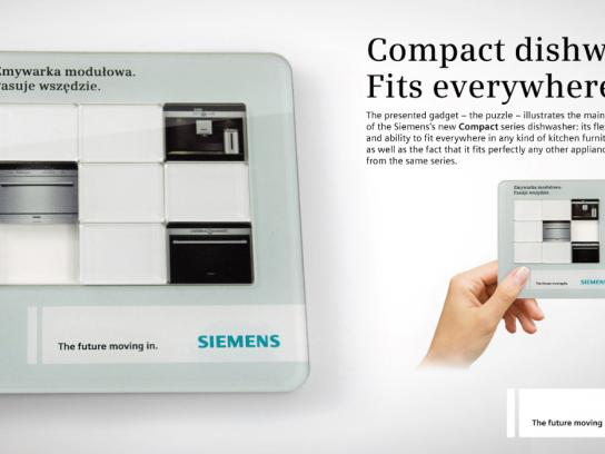 Siemens Direct Ad -  Puzzle