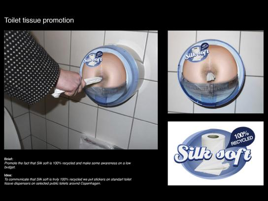 Silk Soft Ambient Ad -  100% Recycled