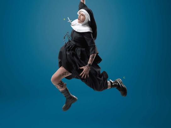 Sirius Print Ad -  Nun