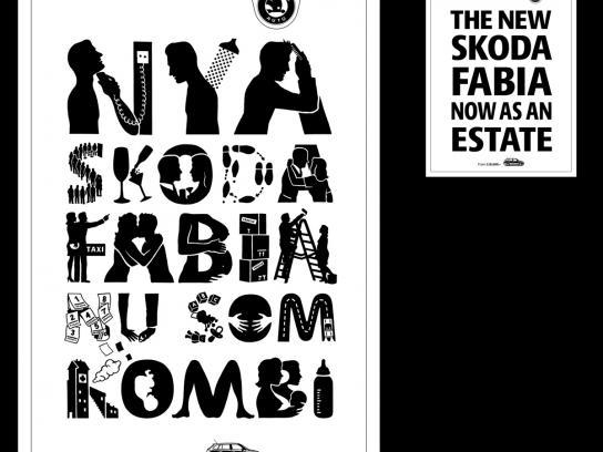 Skoda Print Ad -  Man