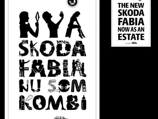 Skoda Print Ad -  Woman