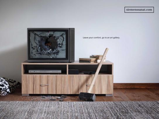Siemens Print Ad -  Sledgehammer