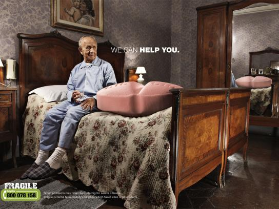 Fragile Print Ad -  We can help you, Pill