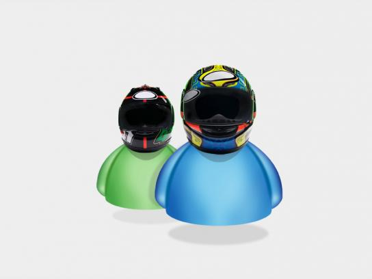 Smart Mobile Print Ad -  Helmet