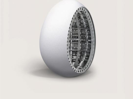 Smart Print Ad -  Egg