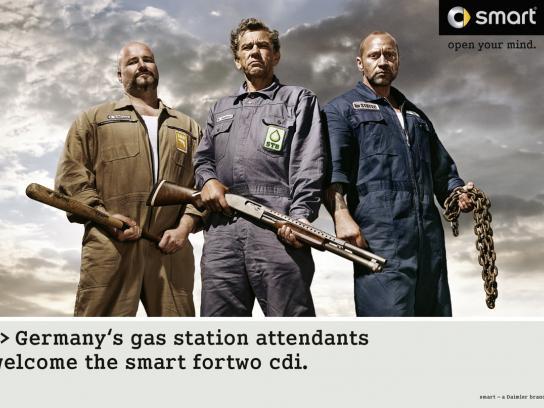 Smart Print Ad -  Attendants