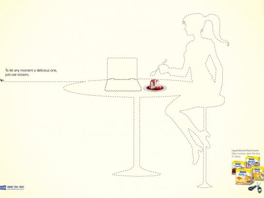 Fleischmann Print Ad -  Delicious moments, Laptop