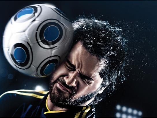 Head & Shoulders Print Ad -  Soccer