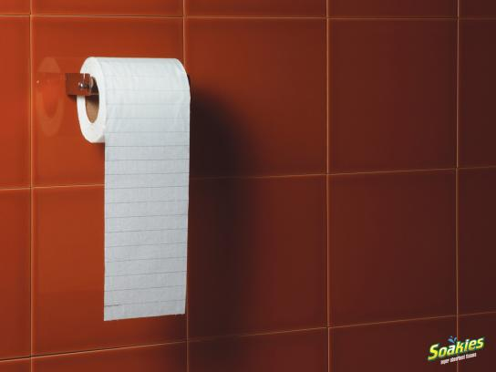 Soakies Print Ad -  Tissue