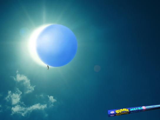 Bumba Print Ad -  Solar Eclipse