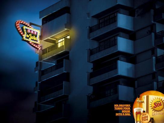 Sol Print Ad -  Bar do Joao