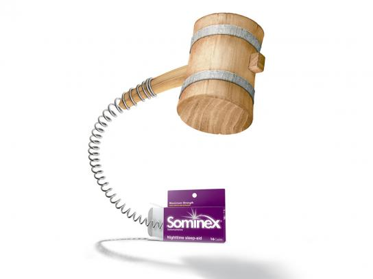 Sominex Print Ad -  Mallet