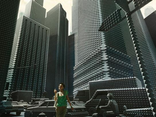 Sony Ericsson Print Ad -  Downtown