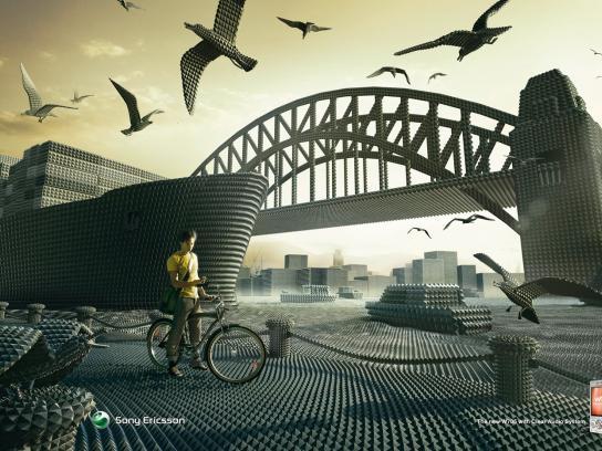 Sony Ericsson Print Ad -  Harbour