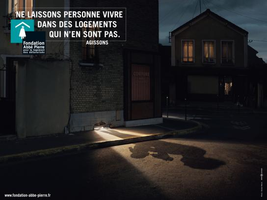 Fondation Abbé Pierre Print Ad -  Ventilator