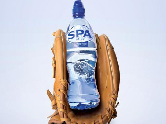 Spa Reine Outdoor Ad -  Baseball