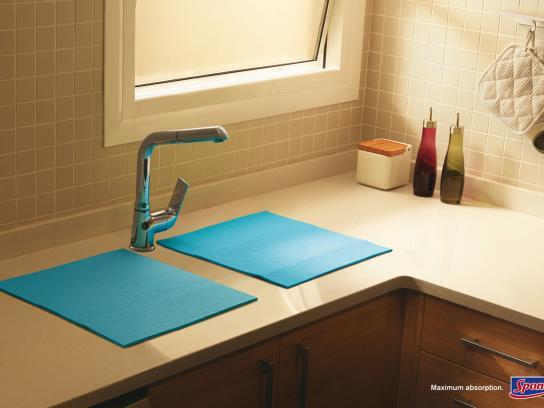 Spontex Print Ad -  Sink