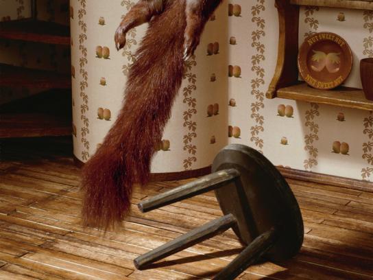 Confiserie Seidl Print Ad -  Squirrel, Rope