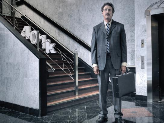 Freedom One Financial Print Ad -  Stairs