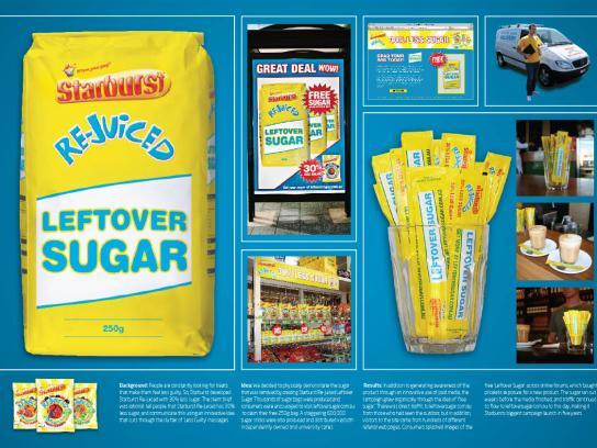 Starburst Ambient Ad -  Leftover sugar