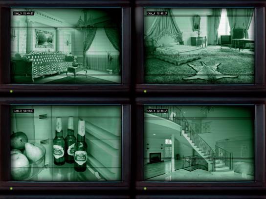 Stella Artois Print Ad -  Security Camera