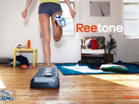 Reebok Print Ad -  Step