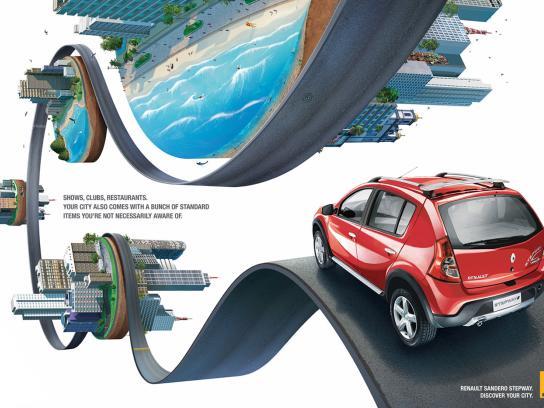 Renault Print Ad -  Stepway 1