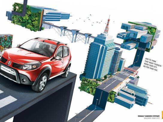 Renault Print Ad -  Stepway 2